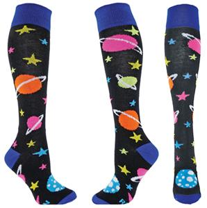 Red Lion Galaxy Knee-High Socks