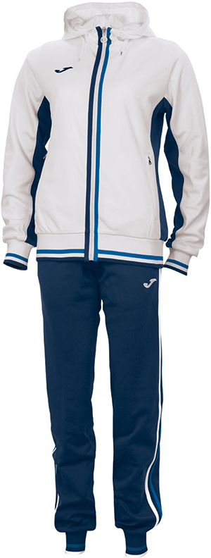 e93078 joma terra woman polyester fleece tracksuit set