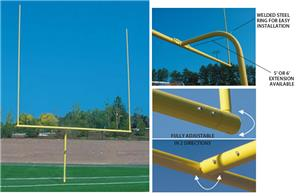 Official H.S. Football Yellow Goal Post 5' or 6'