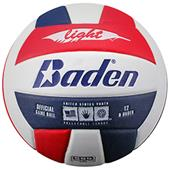 Baden 450 Light Stealth Soft Red/Navy Volleyball