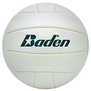 "Baden Mini 5.5"" White Autograph Stitch Volleyball"