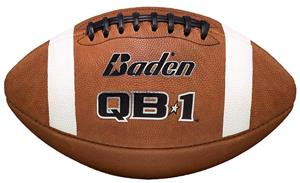 Baden QB1 NFHS Premium Leather Footballs