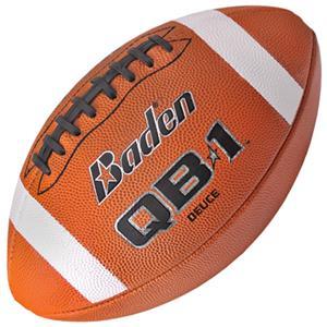 Baden QB1 Deuce NFHS Leather Footballs