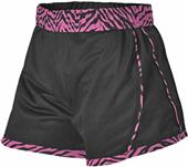 Alleson Womens Girls Reversible Cheer Short