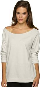 Next Level Women's Terry Raw Edge Raglan Shirt