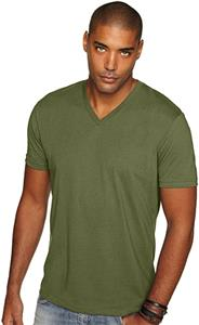 Next Level Men's Premium Sueded V-Neck T-Shirt