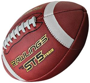 Rawlings ST5 Hybrid NCAA/NFHS Official Footballs