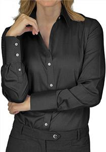 Calvin Klein Ladies Non-Iron Dobby Button Up Shirt