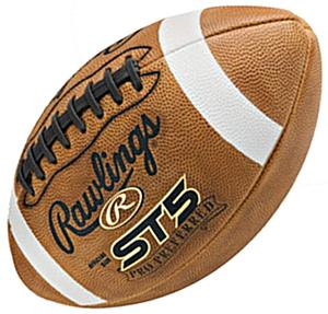 ST5 Pro Preferred Leather Footballs-NFHS/NCAA