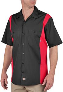 Dickies Men's Short Sleeve Industrial Shirt