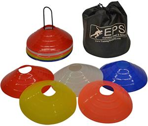 EPS Lightweight Bendable 25 Training Cone Set