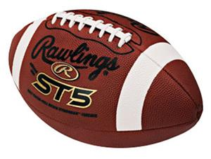 ST5 Soft Touch Leather Footballs-NFHS/NCAA