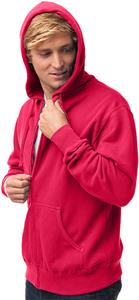 Independent Trading Men's Zip Hooded Sweatshirt