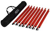 EPS 5FT Agility Poles (Set of 8) - Closeout