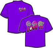 Tandem Sport Youth Dig Set Spike Volleyball Tee