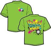 Tandem Sport Volley Splat Volleyball T-Shirt