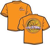 Tandem Sport Hit Hard Volleyball T-Shirt