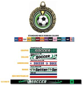 Hasty Awards Soccer Eclipse Insert Medal M-8501