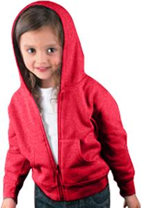 Rabbit Skins Toddler Fleece Zip Front Hoodie