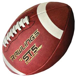 Rawlings ST5 COMP Game Ball Leather Footballs-NFHS