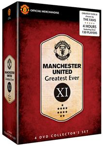 SLS Manchester United Greatest Ever XI DVD Set