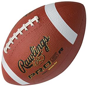 Rawlings PRO5R Molded Rubber Footballs-NFHS