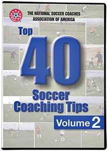 SLS NSCAA Top 40 Soccer Coaching Tips Vol. 2 DVD
