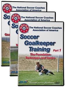 SLS NSCAA Goalkeeper Training DVDs