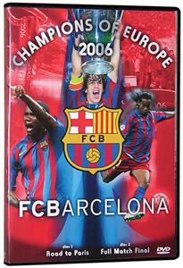 SLS FC Barcelona 2006 UEFA Champions League DVD