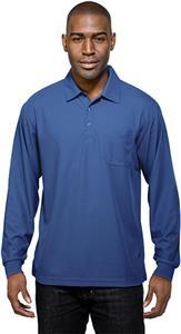 Tri Mountain Men's Endurance Pocket LS Polo Shirt