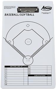 Adams Coaches Dry Erase Boards (All Sports)