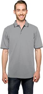 Tri Mountain Men's Trace Short Sleeve Polo Shirt
