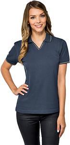 Tri Mountain Lady Trace Short Sleeve Polo Shirt