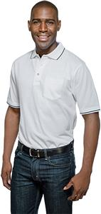 Tri Mountain Men's Trace Pocket Short Sleeve Polo