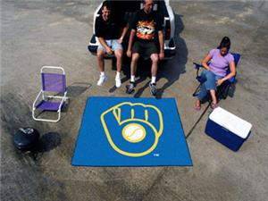 Fan Mats MLB Milwaukee Brewers Ulti-Mat 5'x8'