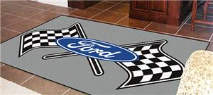 Fan Mats Ford Flags 5'x8' Rug