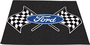 "Fan Mats Ford Flags Tailgater Mat 60""x72"""