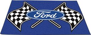"Fan Mats Ford Flags Ulti-Mat Rug 60""x96"""