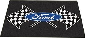"""Fan Mats Ford Flags All-Star Mat 34""""x45"""""""