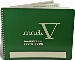 Porter Athletic Wire-Bound Basketball Score Book