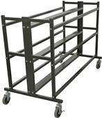Porter Athletic 3 Tier Double Ball Cart