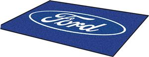 Fan Mats Ford Oval 4'x6' Rug