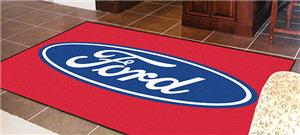 Fan Mats Ford Oval 5'x8' Rug