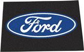 """Fan Mats Ford Oval Starter Mat Rug 19""""x30"""""""