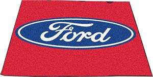 "Fan Mats Ford Oval Tailgater Mat 60""x72"""