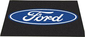 "Fan Mats Ford Oval All-Star Mat 34""x45"""