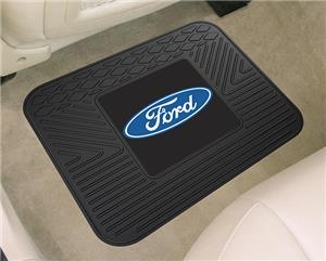 "Fan Mats Ford Oval Utility Mat 14""x17"""