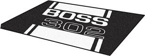 Fan Mats Ford Boss 302 4'x6' Rug