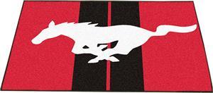 """Fan Mats Ford Mustang Horse All-Star Mat 34""""x45"""""""