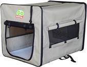Go Pet Club Beige Soft Pet Crate